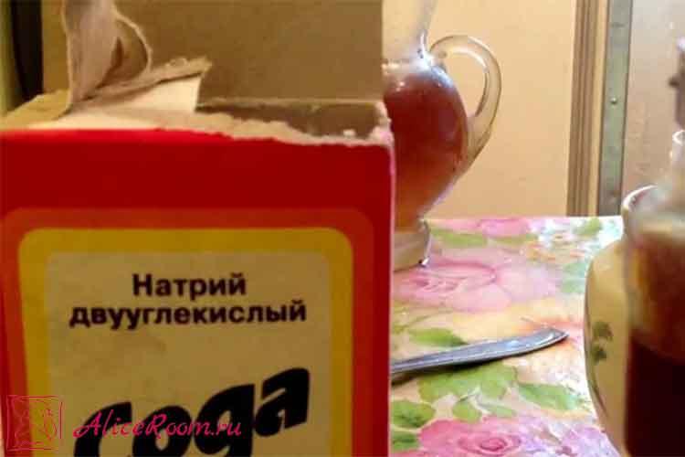 маска с содой для волос рецепт