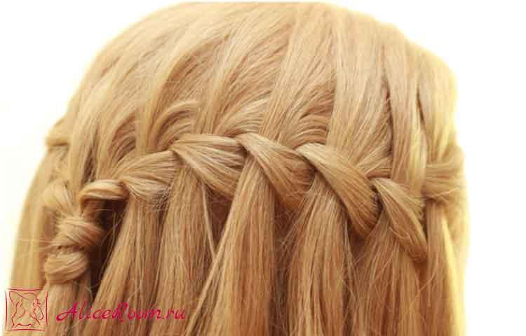 плетение французской косы фото 5