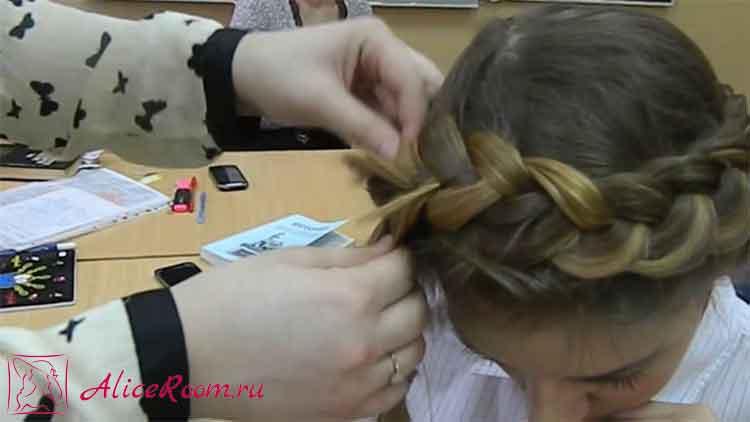 греческая коса фото 4