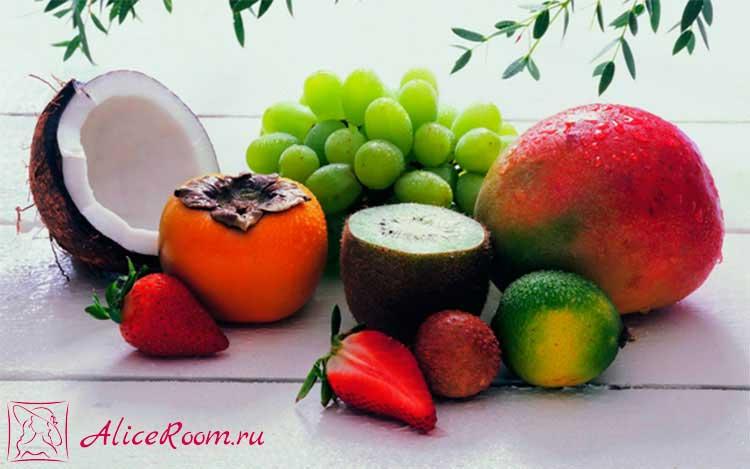 фрукты для роста волос фото 2