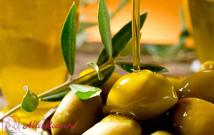 от выпадения волос оливковое масло