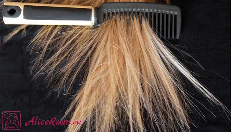 выпадение волос при расчесывании фото 3