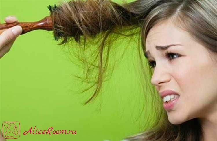 Выпадение волос 350 штук в день