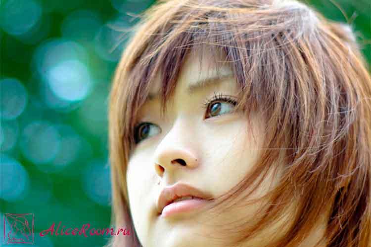Секрет волос японок