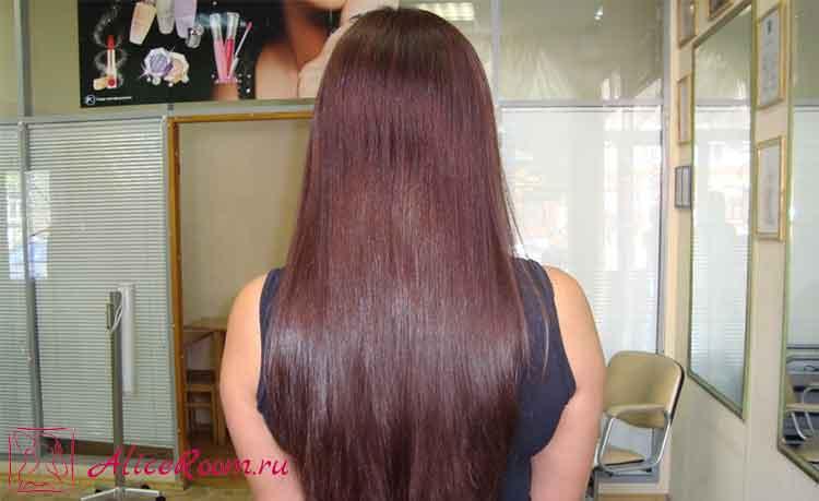 Как сделать чтобы волосы были ламинированы в домашних условиях 709