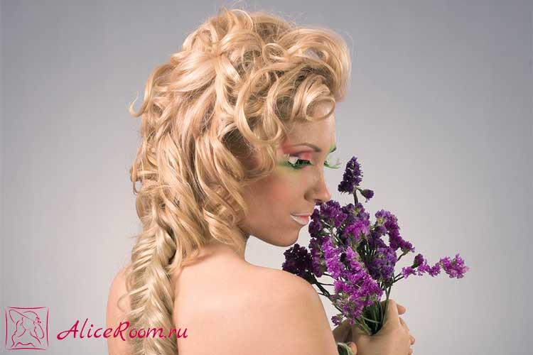 холодная укладка волос фото
