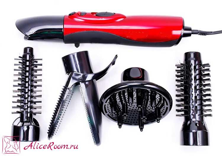 Прибор для укладки волос завивки волос