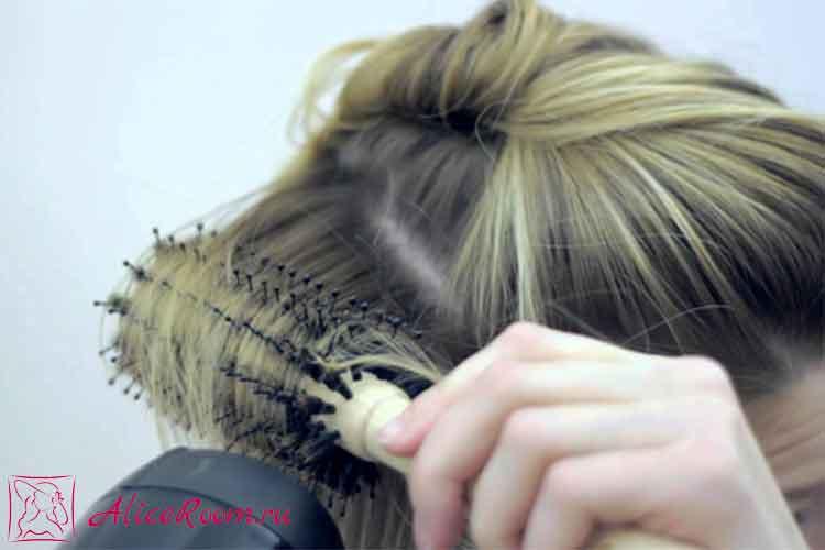 Брашинг волос в домашних условиях