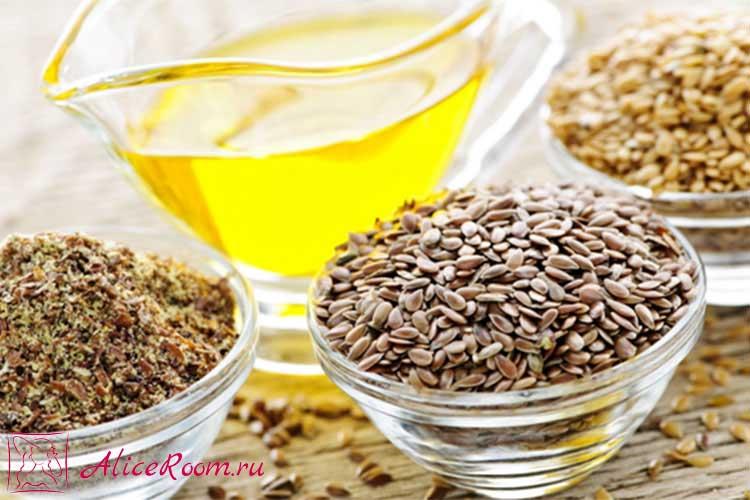 как пить семя льна для очищения кишечника