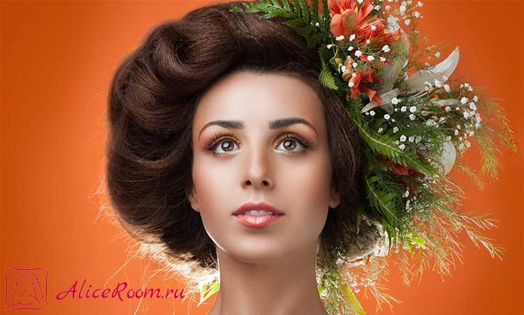 укладка феном длинных волос фото 3