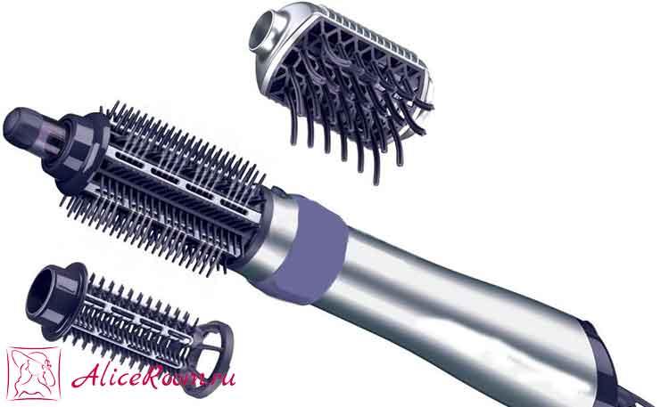 Фен щетка для укладки волос