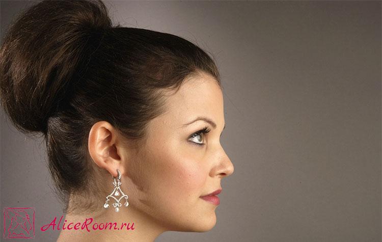 укладка кудрявых волос средней длины фото 4