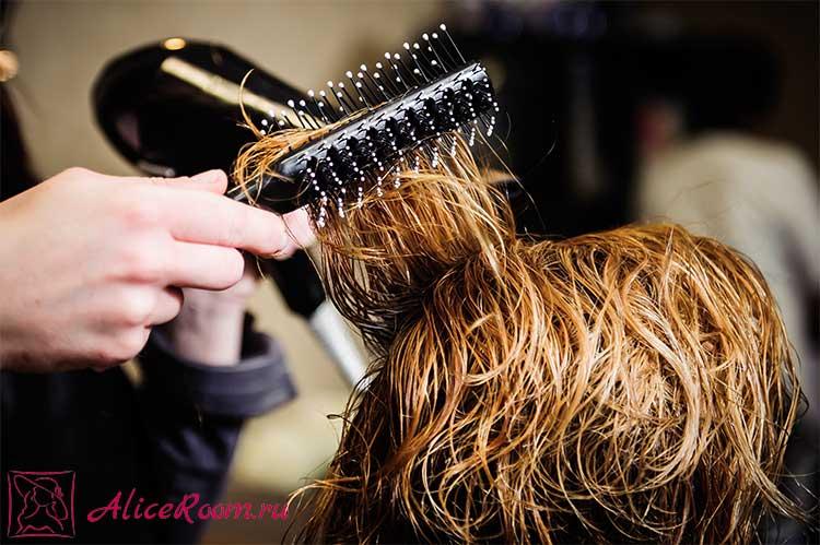 укладка волос диффузором фото 2